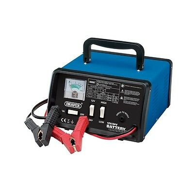 10.5A 12V/24V BATTERY CHARGER Draper Tools