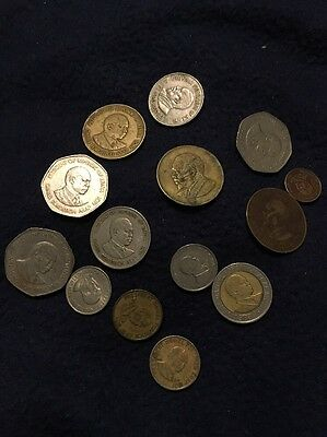 ,  Republic of Kenya, Coin Lot.  See Photos.