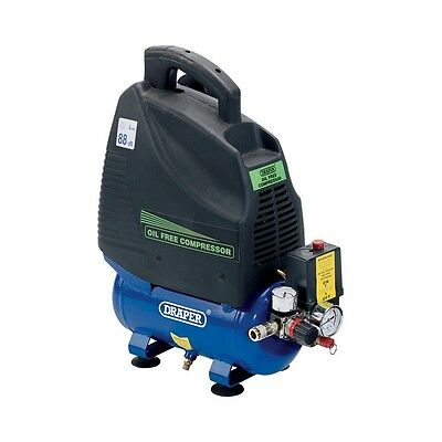 1.5HP 6L OIL FREE COMPRESSOR Draper Tools