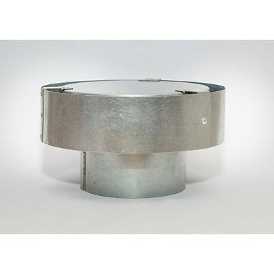 AGA Approved Gas Cowl 100mm Galvanised Steel for Roof GC100