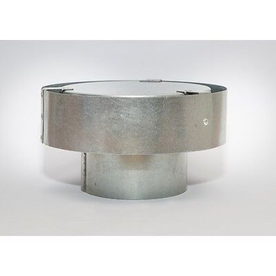AGA Approved Gas Cowl 150mm Galvanised Steel for Roof GC150