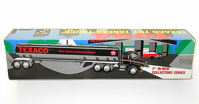 A Texaco Star Of The American Road Tanker Truck 1st In Collectors Series NEW