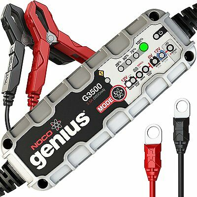 NOCO Genius G3500 - 6V/12V 3.5 Ultrasafe Smart Battery Charger