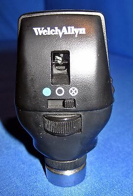 Welch Allyn Model 11720 3.5 V Coaxial Ophthalmoscope Head with Lamp