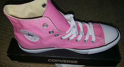 24214afeb8afd7 Converse Chuck Taylor All Star High Top Canvas Women Shoes women - Pink  White