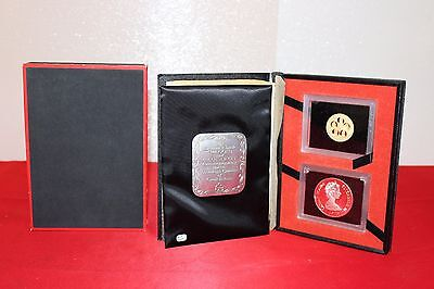 1975 Cayman Islands 100 Gold + 50 Silver Coin Set (R31)