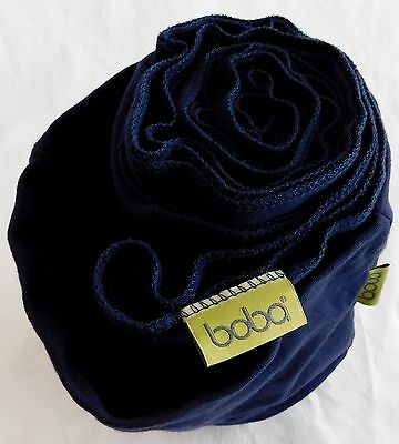 Boba Wrap Navy Blue Baby Carrier 0-36 mos. 7-35lbs