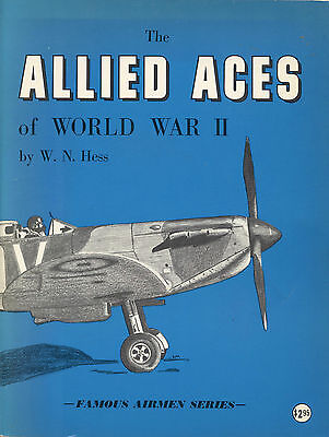 THE ALLIED ACES OF WORLD WAR II by W. N. HESS