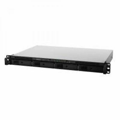Bundle: Synology RackStation RS816 (0TB) 4-Bay 1U All-In-One Rackmount NAS Serve