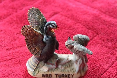 Neat ~ Wild Turkey and Owl Limited Edition Decanture ~ Detailed 1985
