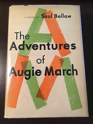 The Adventures of Augie March - Saul Bellow (SIGNED, First Edition)