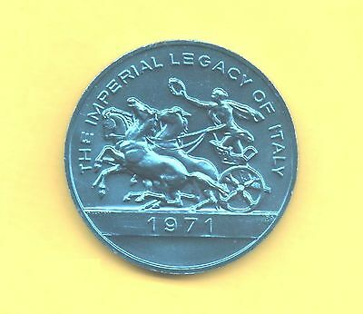 Horse and Chariot Token ~ 1971 Imperial Legacy of italy Coin