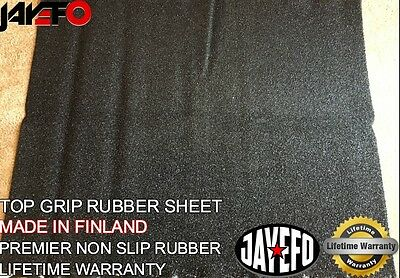 "Premium Top Grip Non Slip Rubber Sheet 40"" Length 35"" Wide Made In Finland"
