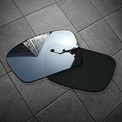 RawD Silver Mirrored Replacement Lenses for-Oakley Gascan Sungalsses POLARIZED