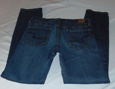 """Womens AMERICAN EAGLE Low Rise Skinny Stretch Jeans Size 6 Short Inseam 29"""""""