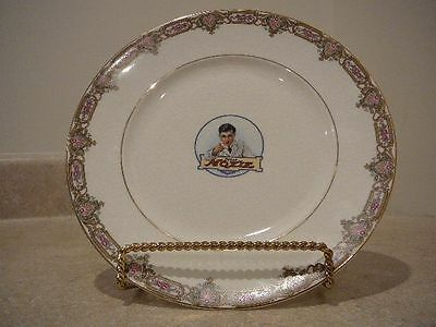S17 Vintage Moxie Cola Soda Advertising China Plate Ktk Knowles Taylor Knowles