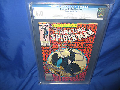 The Amazing Spider-Man #300 CGC 6.0 1st Appearance Of Venom Newsstand