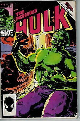Incredible Hulk - 312 - Marvel - October 1985