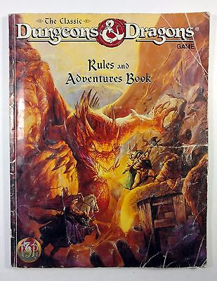 Dungeons & Dragons AD&D 1994 TSR Rules And Adventures Book