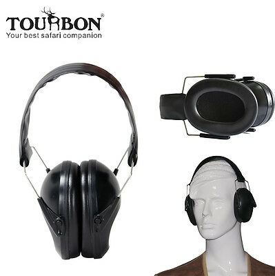 Tourbon Ear Muffs Safety Hearing Protection Noise Reduction Sport Shooting