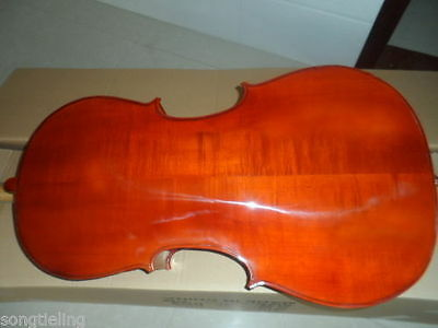 Strad style SONG Brand Solid wood 4/4 cello,huge and resonant sound
