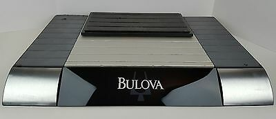 "Bulova Watches Retail Store Counter Display Advertisement 24"" x 16"" Man Cave"
