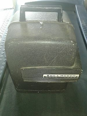 Vintage Bell & Howell 256 AB Auto Load 8mm Home Movie Projector Works No Bulb