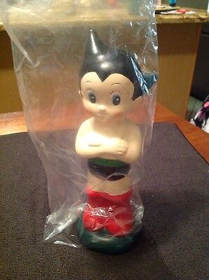 "Astro Boy Import Edition ceramic Bank Mighty Atom 8"" Tezuka Rare Rune"