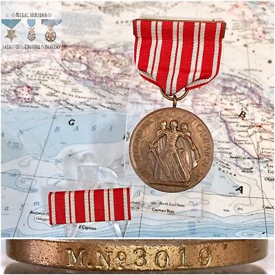 M.No. 3019 U.S. MARINE CORPS SECOND NICARAGUAN CAMPAIGN MEDAL US MINT NUMBERED