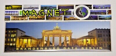 BRANDENBURGER TOR/GATE, BERLIN, GERMANY,  Photo, Image, Fridge Magnet, Souvenir.
