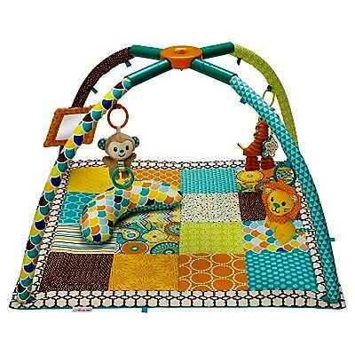 Infantino Go GaGa Deluxe Twist and Fold Gym Activity Baby Play mat Toys Floor