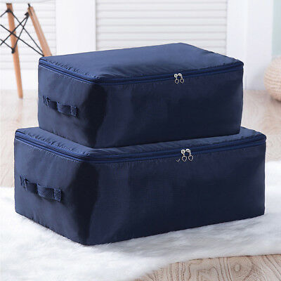 1PC Large Storage Bag Box Clothes Duvet Laundry Pillow Bedding Blanket Under Bed