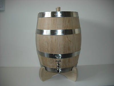 Made To Order 10 Litre American Oak Port/Rum/Bourbon Spirit Barrel Hand Crafted