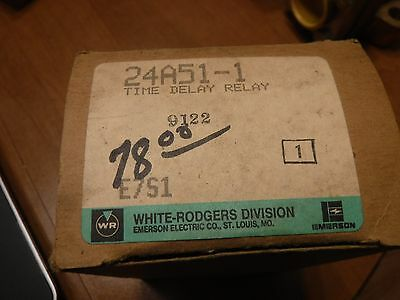 White Rodgers 24A51-1 Time Delay Relay (New)