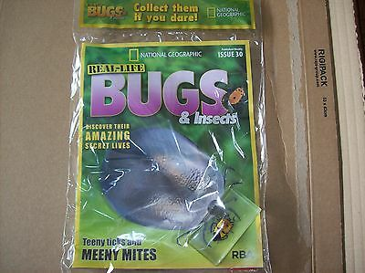 National Geographic Real-life Bugs & Insects magazine Issue 30