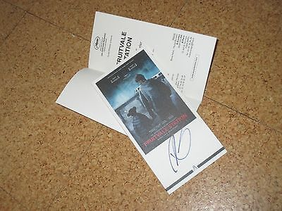 FRUITVALE STATION Original CANNES pressbook RYAN COOGLER handsigned IN PERSON!