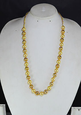 Indian Jewelry Bollywood New women Necklace set Gold Ethnic Pendant Crystals zj/