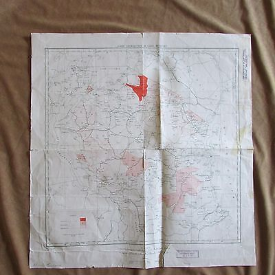 Vintage Tanganyika Game Distribution Reserves maps Africa signed letter hunting