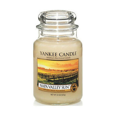 ☆☆Napa Valley Sun☆☆ Large Yankee Candle Jar☆Popular Fruit Scented Candle