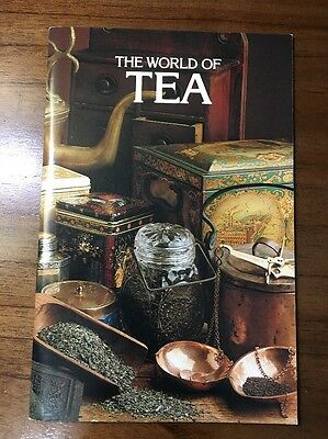 The World of Tea Lipton Vintage Retro Drink Recipes Booklet Advertising Spritzer