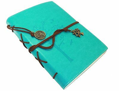 Valery Rustic Classic Pu Leather Writing Lined Journal Diary With Acid Free Pape