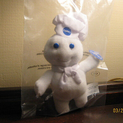 Pillsbury Doughboy Mini Bean Bag Dolls - Lot of 125 / Factory sealed-promo items