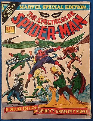 Vintage Comic Book - Marvel Special Edition #1 - The Spectacular Spider-Man