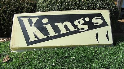 Vintage Kings Department Store Sign Johnson City, Tennessee