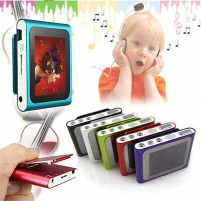 "Digital MP3 Music 1.8"" LCD Screen Media Video Movie 6th MP4 Player vb"