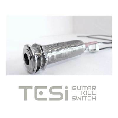 Tesi Switchcraft 152B Stereo Barrel Output Jack with Wires for Guitar
