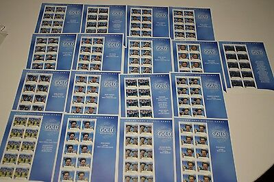 2004 Olympic Games Australian Gold Medallists Complete Set Of 17 Sheetlets Fv$85