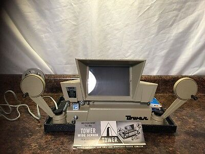 Sears Tower 8Mm Editor/viewer Wide Screen Model 608