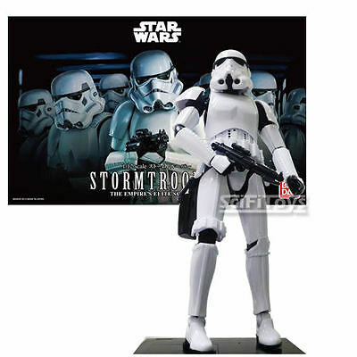 1/12 Star Wars Stormtrooper Empire's Elite Soldier Model Kit Bandai New Official
