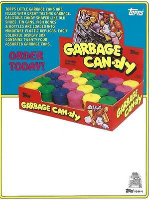 Selling sheet GARBAGE CAN-DY #544-4